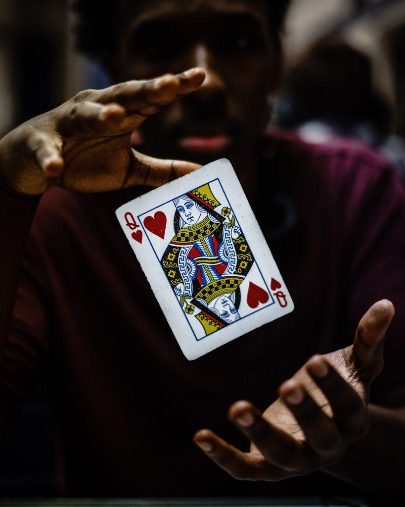 Symbolbild Kartenlegen