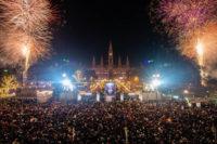 Das Feuerwerk am 1. Jänner 2019
