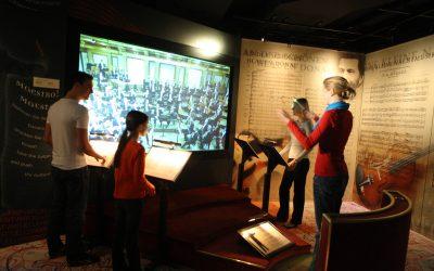 Im Haus der Musik wird virtuell dirigiert