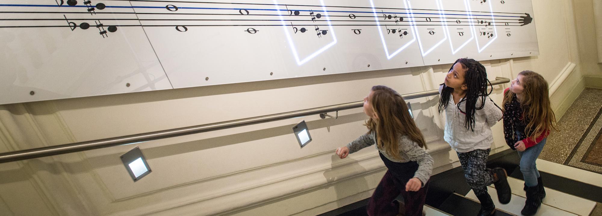 Die Treppe im Haus der Musik