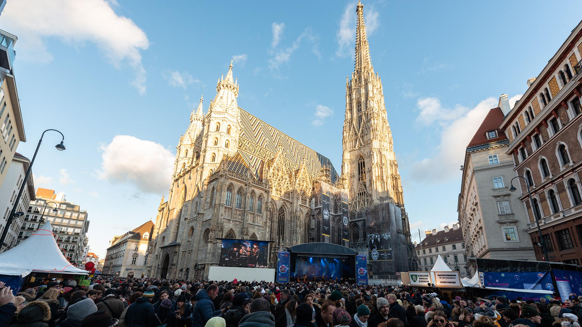 Der Stephansplatz bei Tag